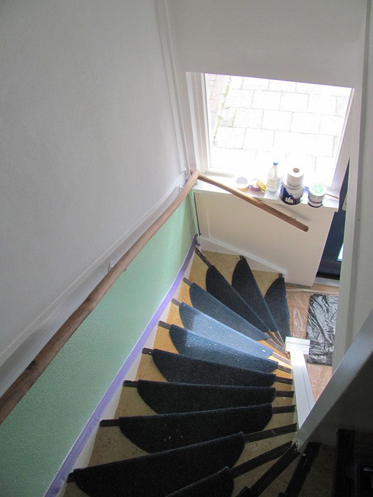 Trap bekleden utrecht 2 de allround klusser - Versier een trap ...