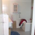 Badkamer in Woerden; voor de verbouwing